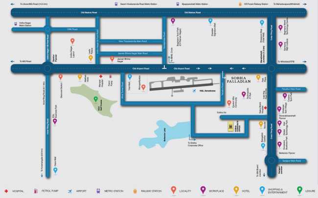 Location-map-Sobha-Palladian