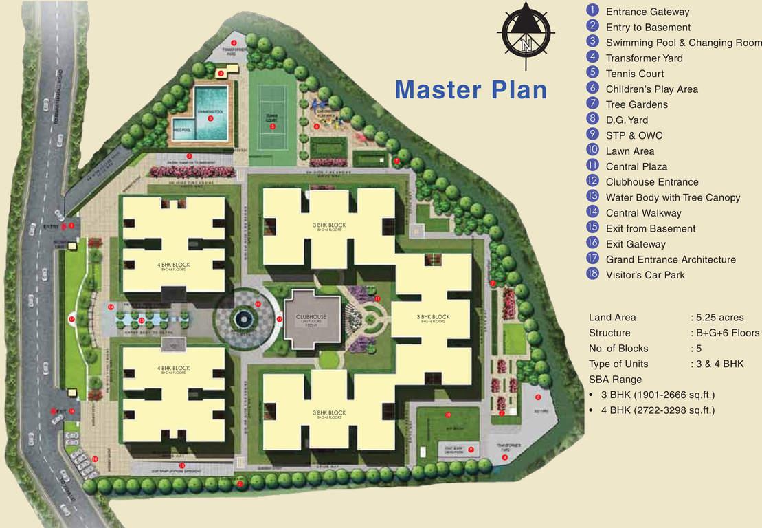 Sobha-Palladian's-Master-Plan