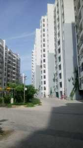 The entry to the basement parking at Purva Swanlake project in OMR, Chennai