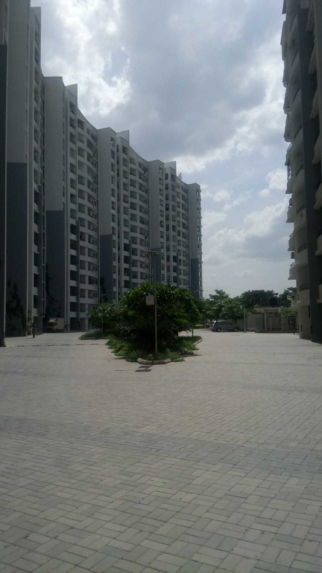 The towers of Purva Swanlake project in OMR, Chennai