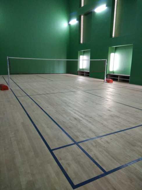Renaissance Nature Walk- Badminton court in the clubhouse
