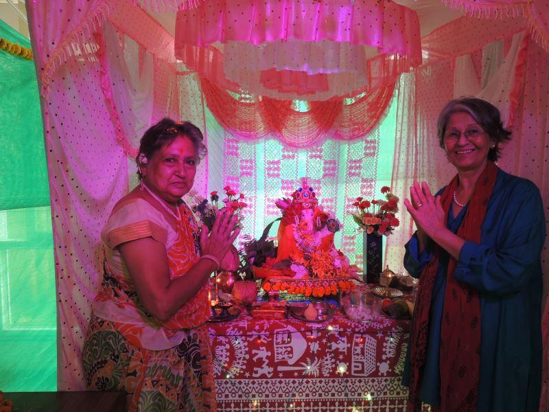 Celebration_of_Ganesh festival celebrations at Gagan NuLife