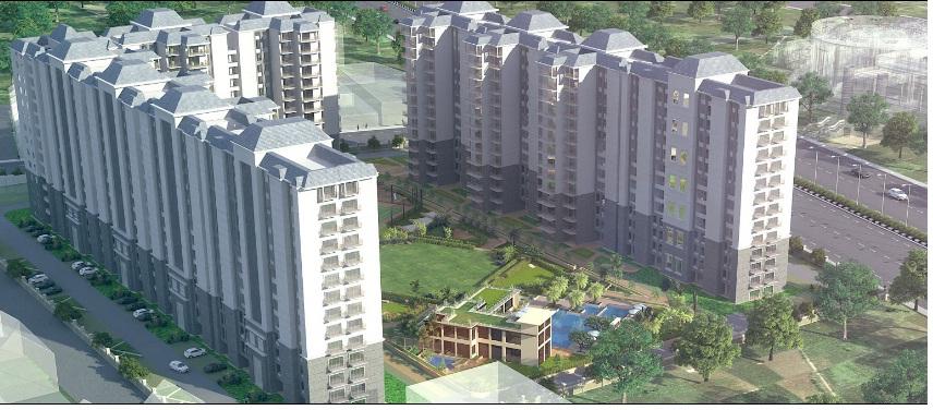 Artist Impression of Planned Layout ((Image Courtesy: Raheja Developers)