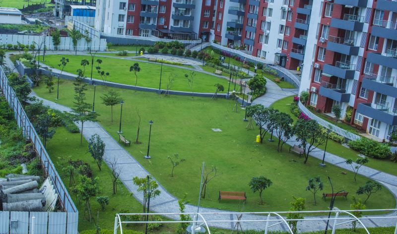 Abundance of green, open spaces at Gagan NuLife