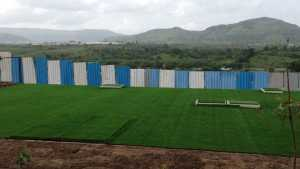 A view of the green surroundings of Talegaon from Rio Vista project (Image Credit: Parmar Construction Company)