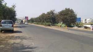 Mumbai-Pune NH4 at Talegaon