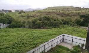 View of the Sahyadri Hills in Pisoli, Pune