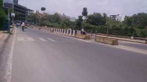 Baner-Pashan Link Road, the approach road to VTP Solitaire project in Baner, Pune