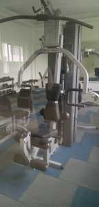 Gymnasium in the clubhouse at Vascon Xotech project in Hinjewadi, Pune