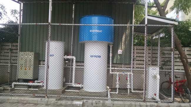 Onsite Sewage Treatment Plant (STP) at Vascon Xotech project in Hinjewadi, Pune