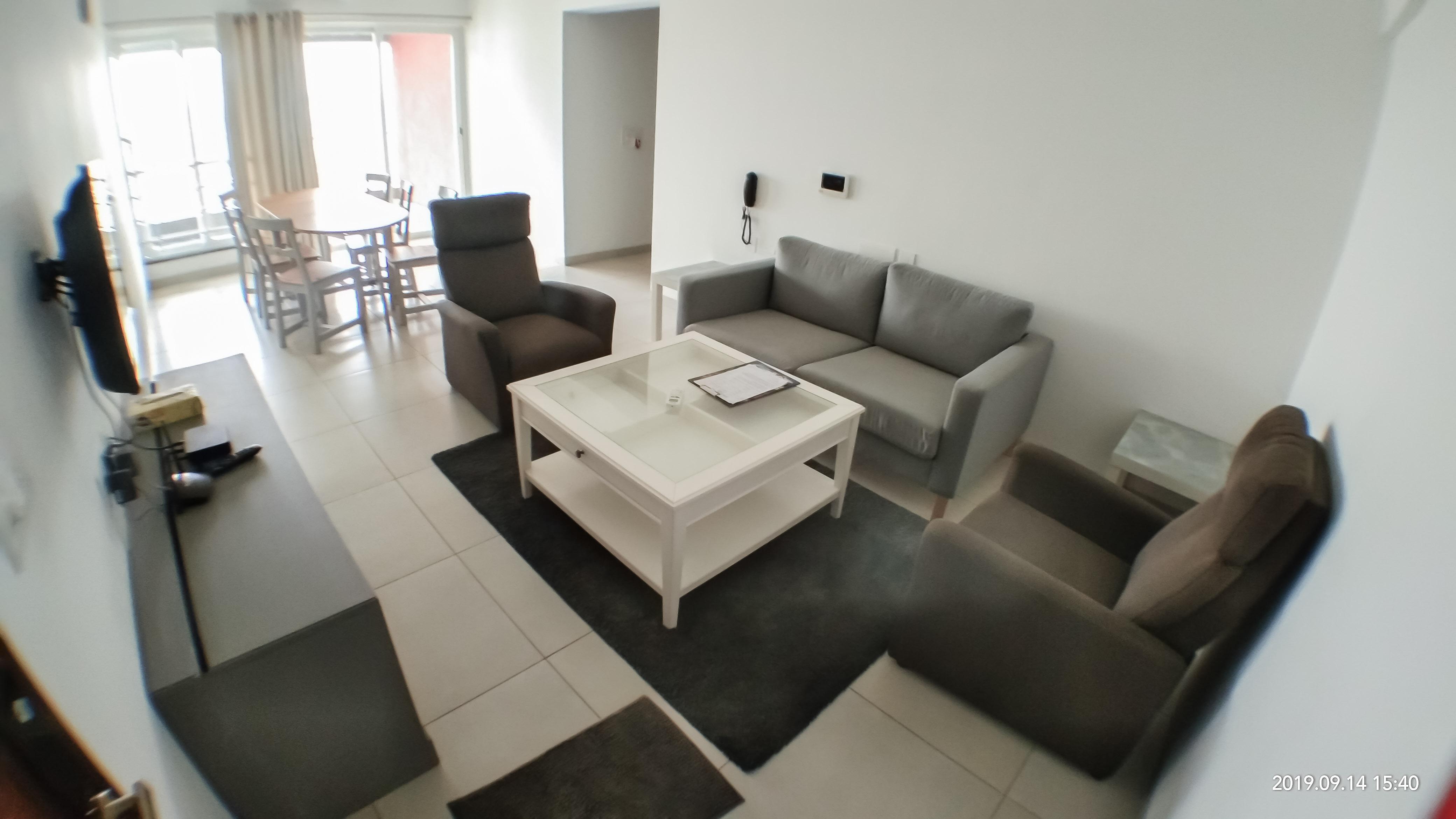 Living cum dining room at Gagan NuLife (Representative image)