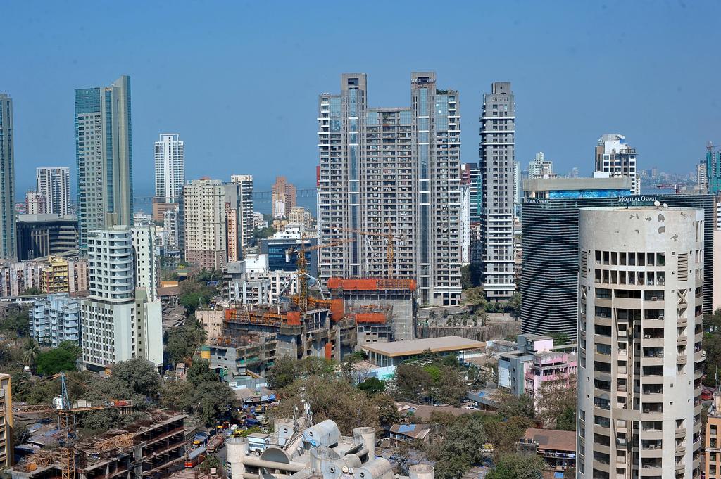Mumbai Skyline, Lower Parel: Indian Real Estate