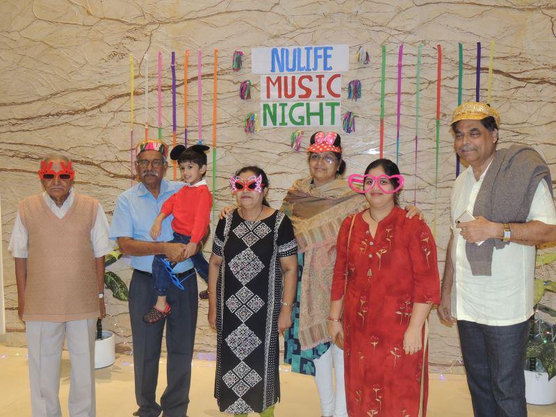 Music Night celebration at Gagan NuLife