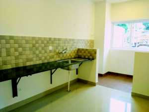 Ozone Promenade: clip from the kitchen and the utility area of the sample apartment