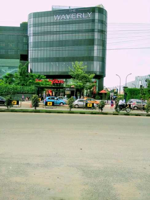 Ozone Promenade: Phonex Market City right opposite to the project's location