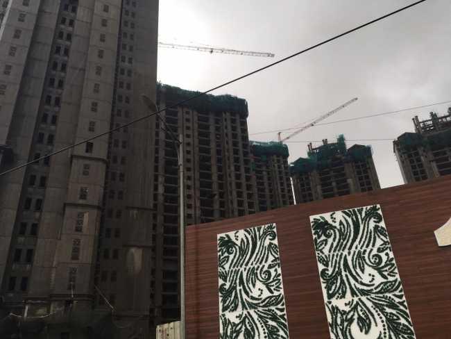 Hiranandani One Park: Buildings under construction