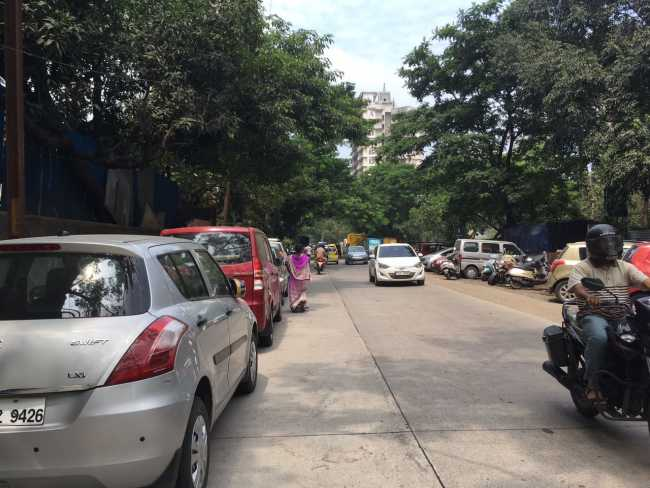 Ashar Sapphire: Approach Road