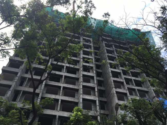 Ashar Sapphire: Building Under Construction