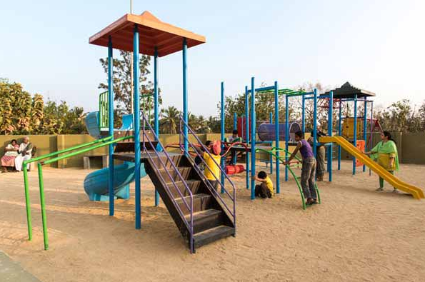 Kids play area at Gopalan Atlantis