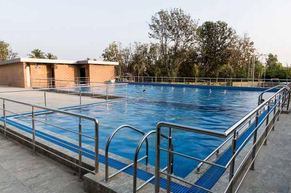 Swimming Pool at Gopalan Atlantis