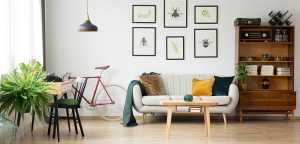 Lodha Crown living room: representational image