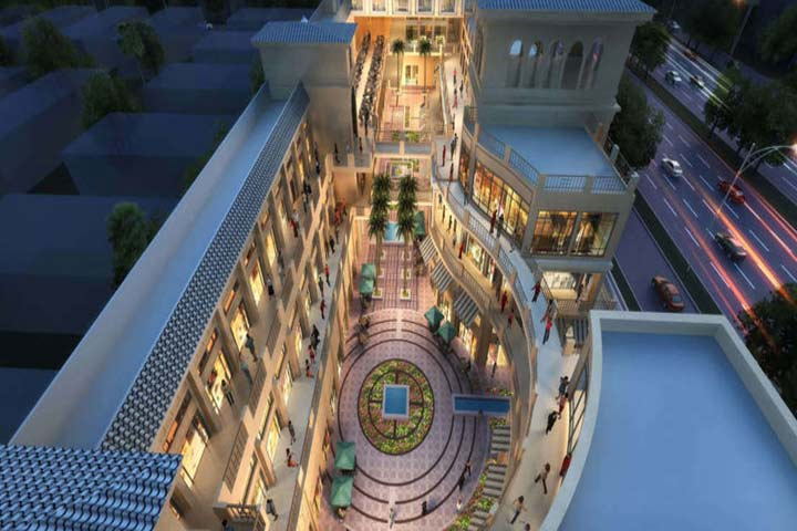 Artistic impression of overhead view of Adani Miracle Mile